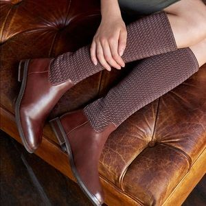 Cole Haan Brown Lexi Grand Stretch Riding Boots